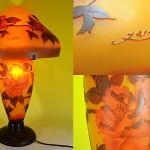 ガレ風ランプ