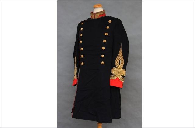 旧日本陸軍の大礼服上衣