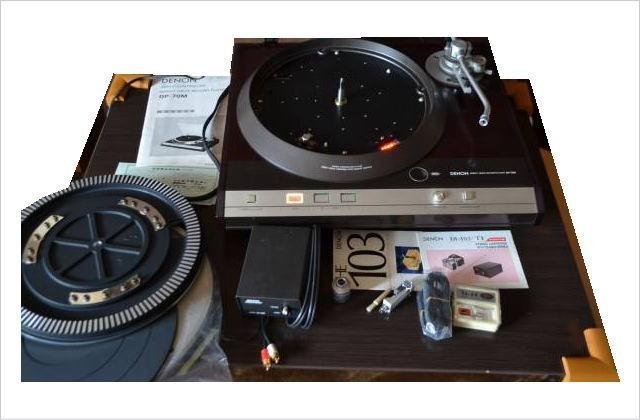 DENON レコードプレーヤー DP-70M
