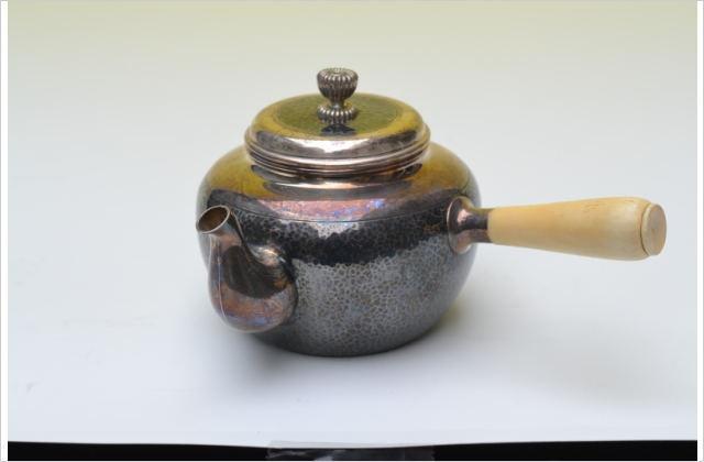 作家物象牙銀瓶
