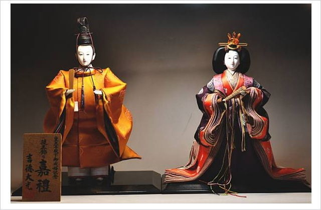 吉徳大光 皇太子殿下御成婚記念人形 嘉禮 親王飾り